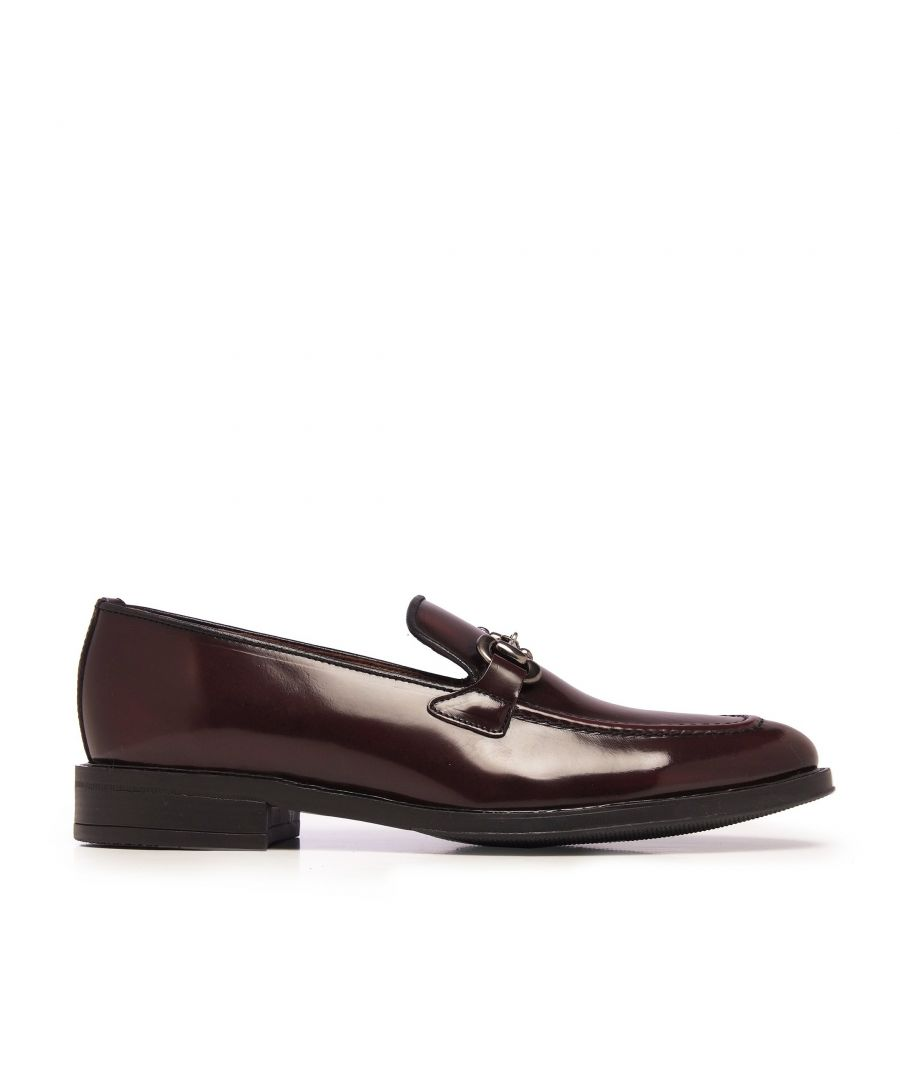 Image for Castellanisimos Leather Moccasin Men Burgund