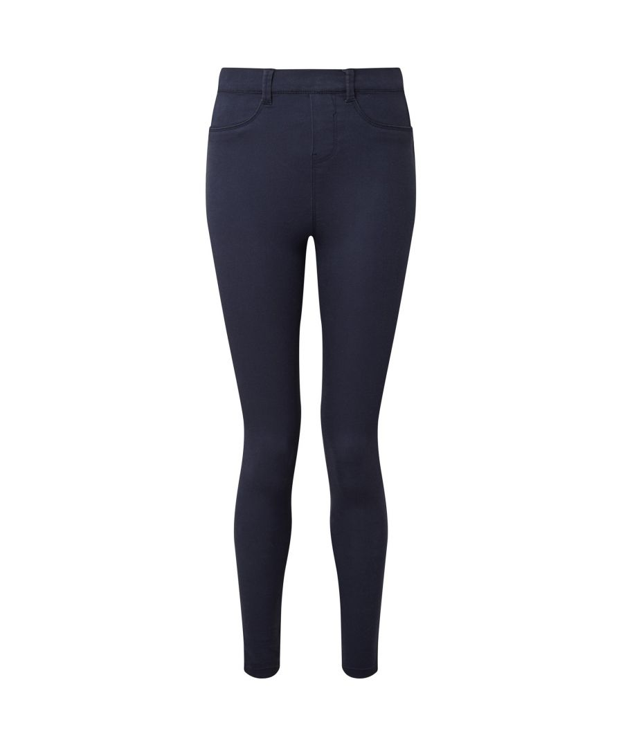 Image for Asquith & Fox Womens/Ladies Classic Fit Jeggings (Navy)