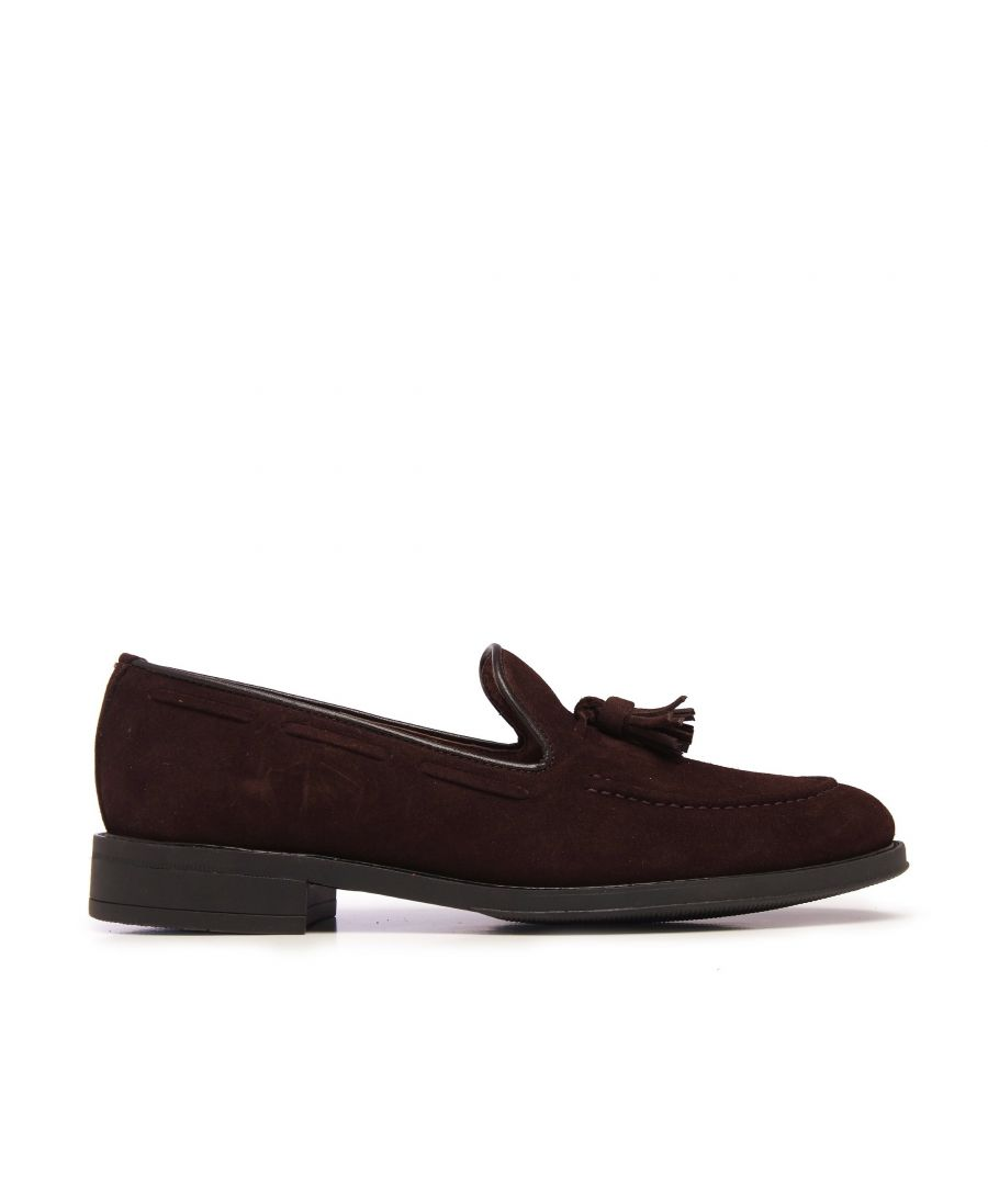 Image for Castellanisimos Leather Moccasin Tassel Brown Loafers Classic Shoes