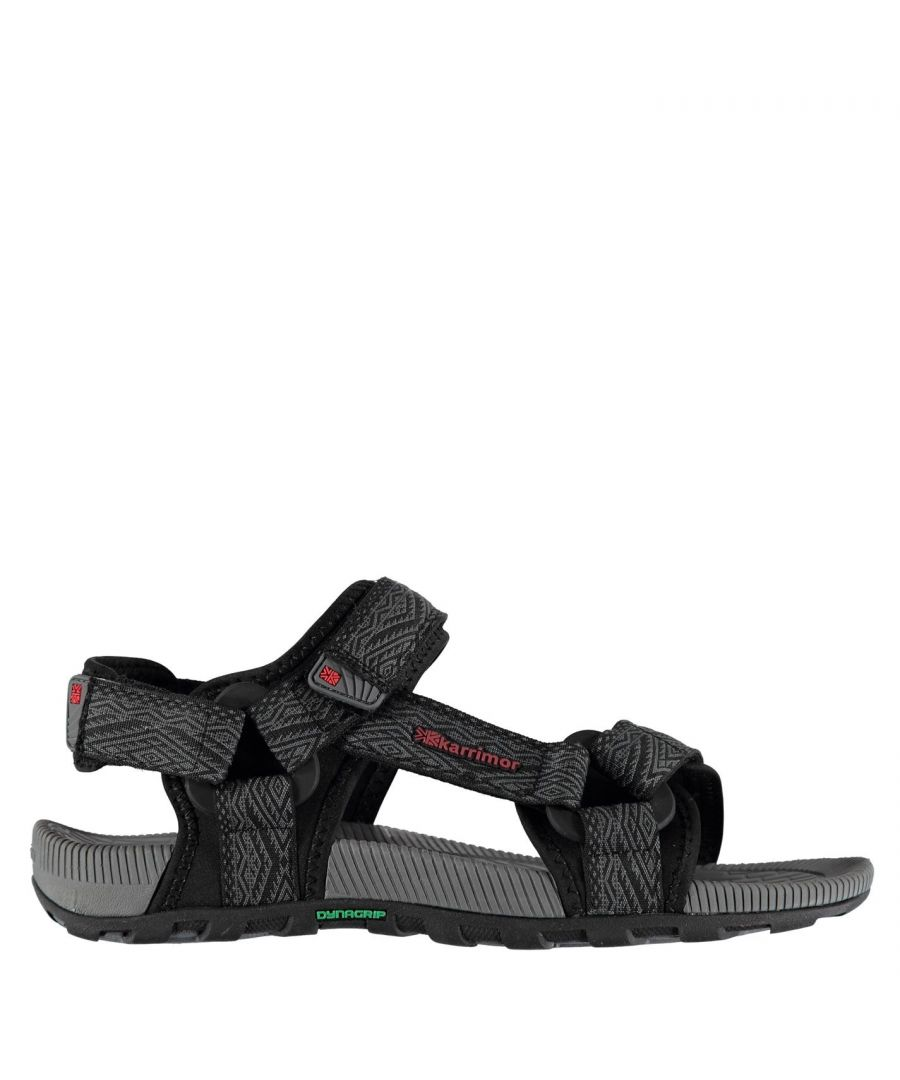 Image for Karrimor Mens Amazon Outdoor Walking Hiking Sandals Moulded Grip Sole Shoes