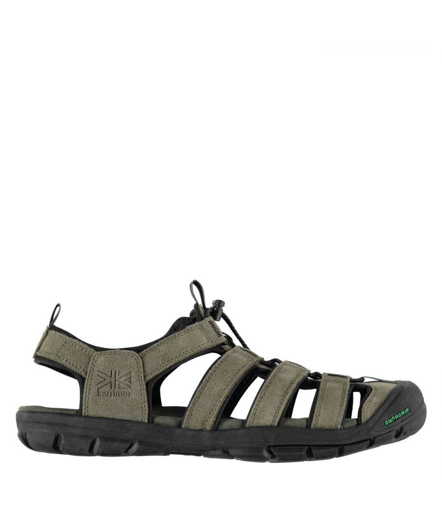 Image for Karrimor Mens Ithaca Leather Upper and Footbed Outdoor Walking Hiking Sandals