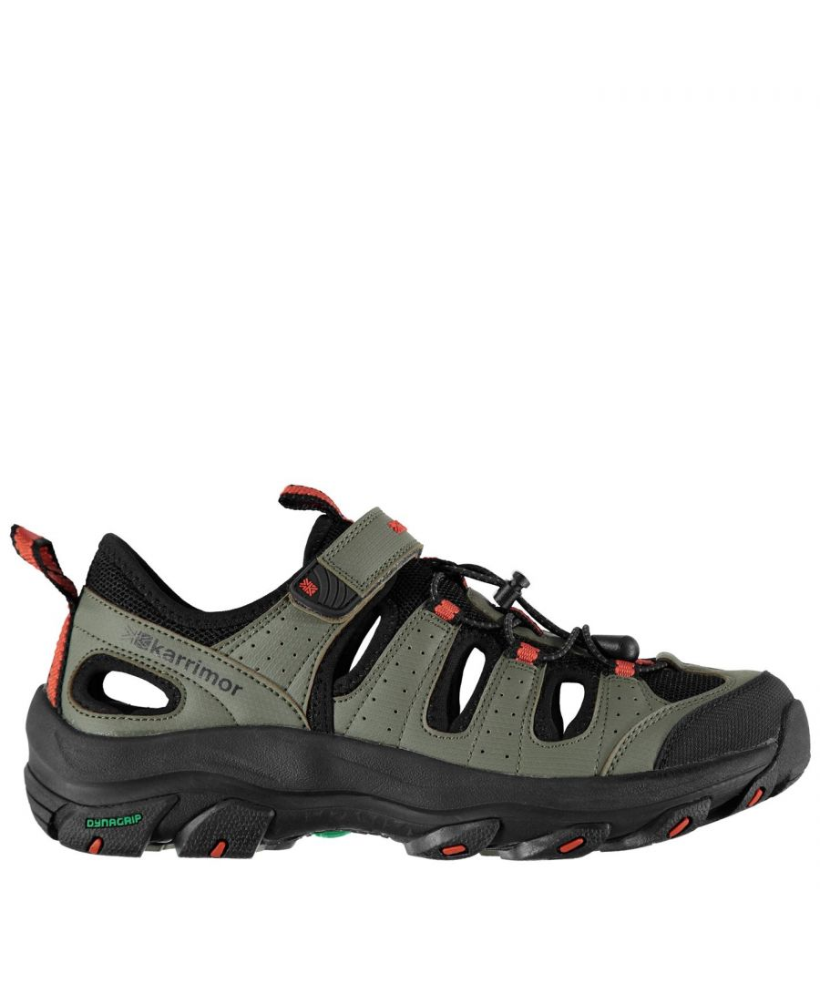 Image for Karrimor Mens K2 Walking Sandals Summer Shoes Walking Footwear Hook And Loop