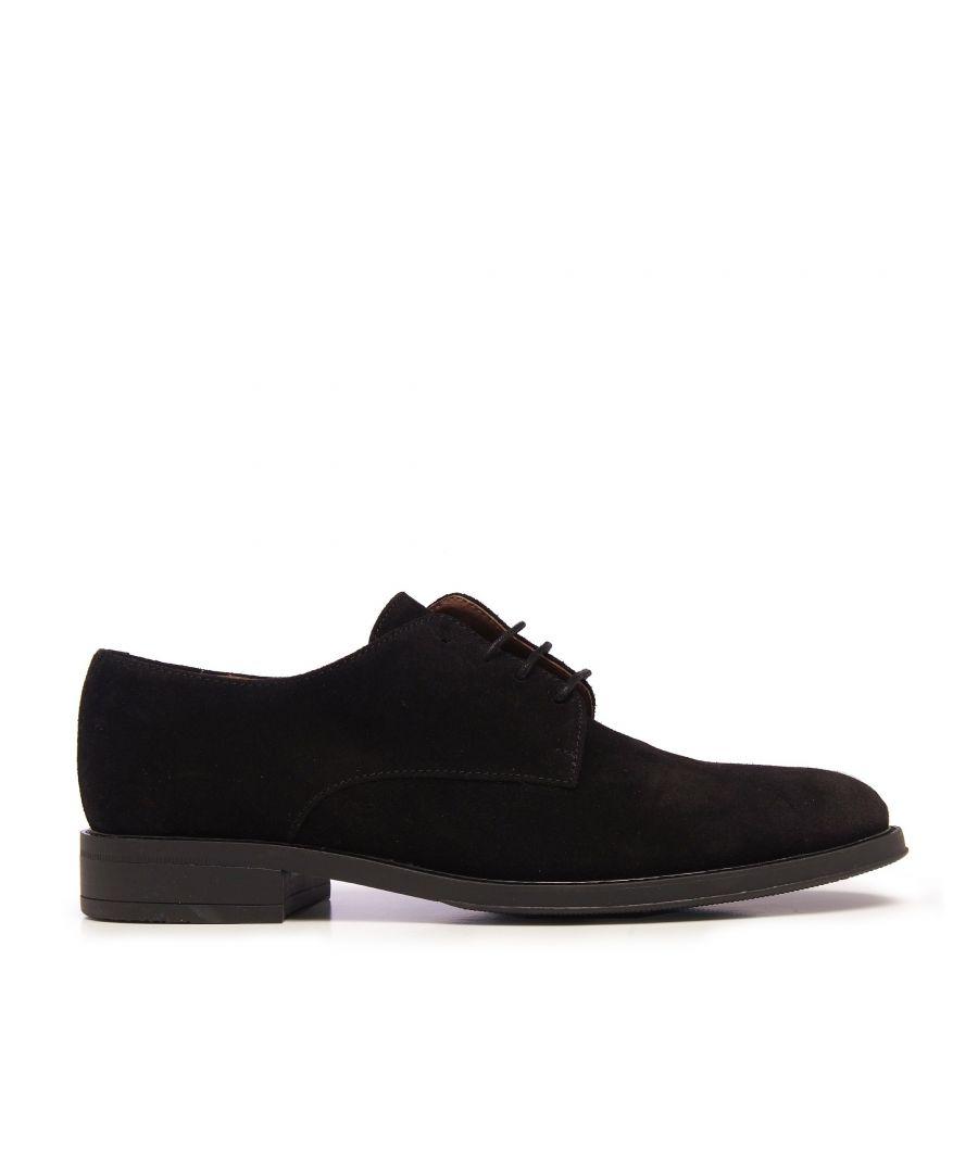 Image for Castellanisimos Classic Men Blucher Leather Dress Shoe Black