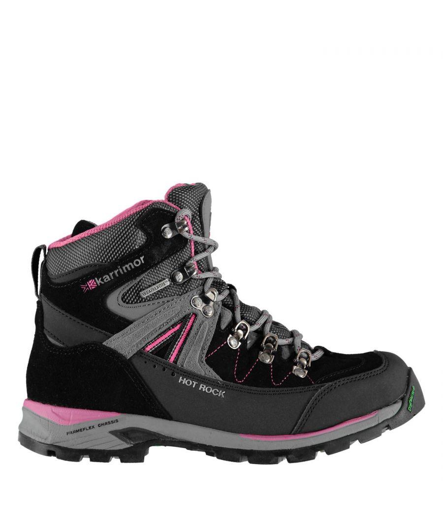 Image for Karrimor Womens Ladies Hot Rock Weathertite Waterproof Trekking Walking Boots