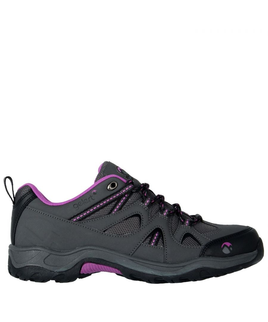 Image for Gelert Womens Ottawa Low Walking Lace Up Padded Ankle Collar Outdoor Shoes