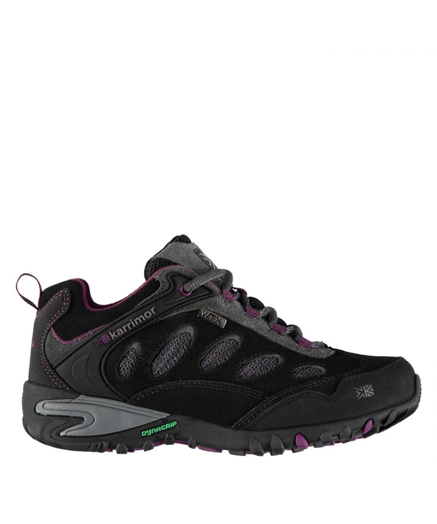 Image for Karrimor Womens Ridge WTX Walking Shoes Waterproof Lace Up Breathable