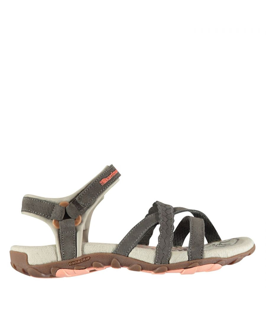 Image for Karrimor Womens Salina Leather Walking Sandals Shoes Touch and Close Strap