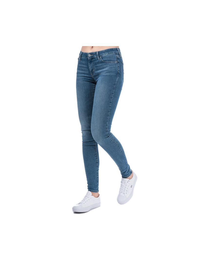 Image for Women's Levis 711 Skinny All Play Jeans in Denim