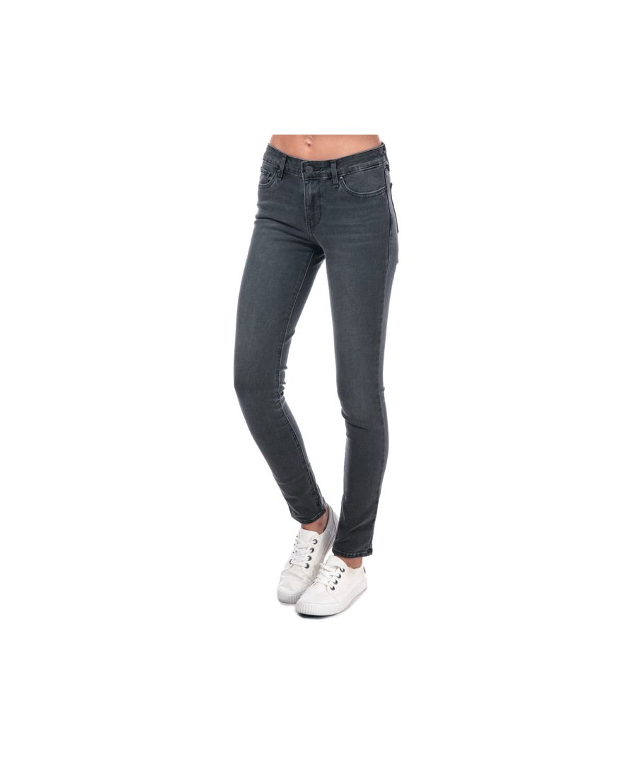 Image for Women's Levis 711 Skinny Boombox T2 Jeans in Black