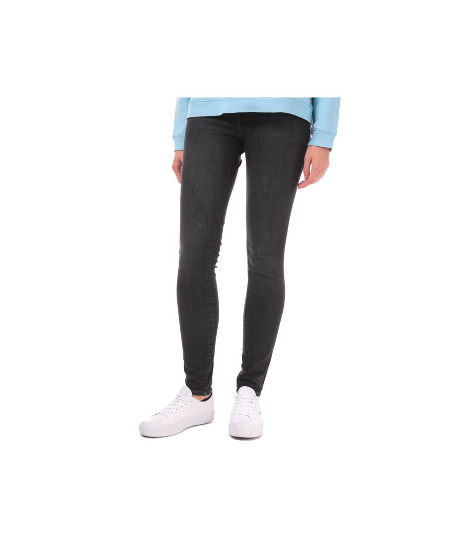 Image for Women's Levis 711 Skinny Jeans in Black
