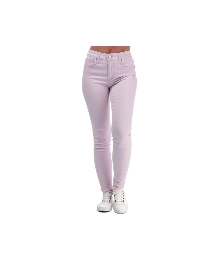 Image for Women's Levis 721 High Rise Skinny Jeans in Lilac