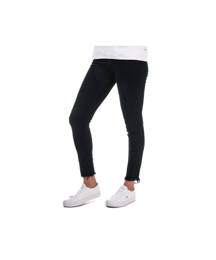 Image for Women's Levis 721 High Rise Skinny Early Riser Jeans in Black