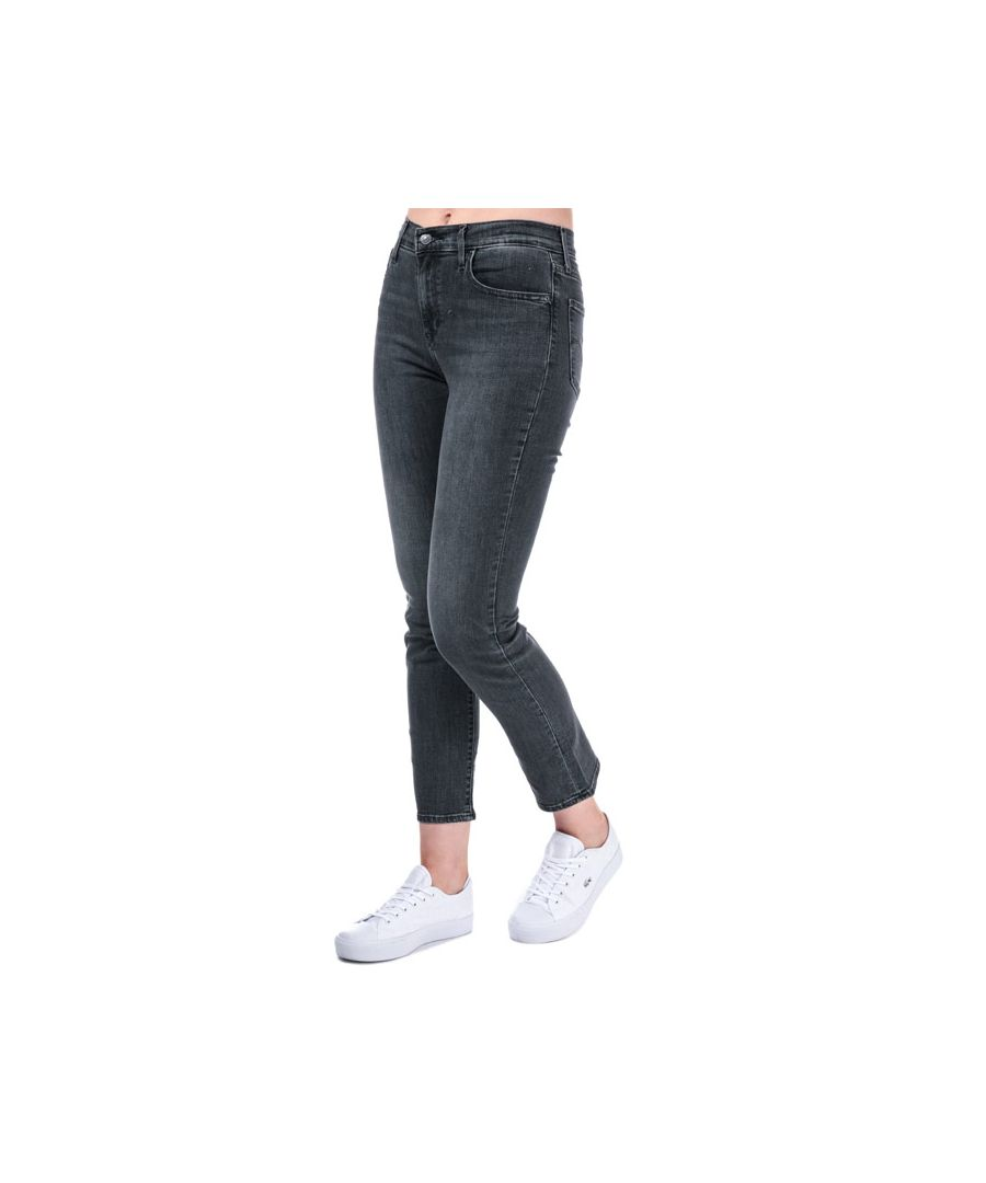 Image for Women's Levis 724 High Rise Straight It's All Good Jeans in Grey
