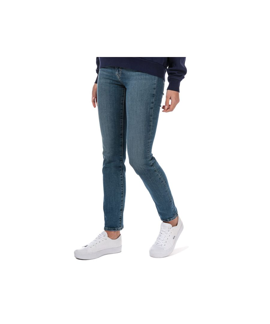Image for Women's Levis 724 High Rise Straight Jeans in Denim