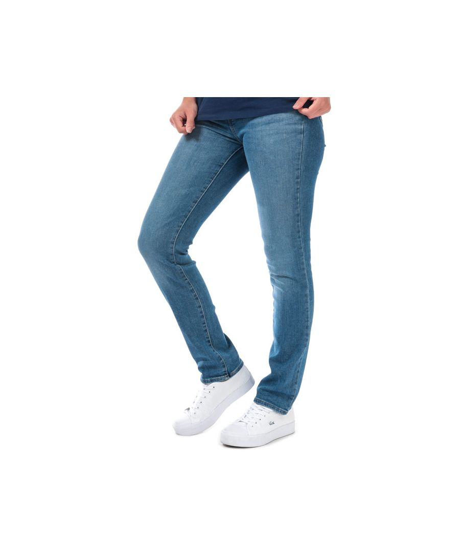 Image for Women's Levis 724 High Rise Straight Sapphire Dust Jeans in Denim