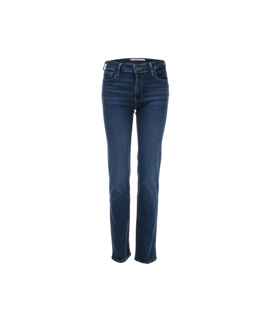 Image for Women's Levis 712 Slim Jeans in Denim