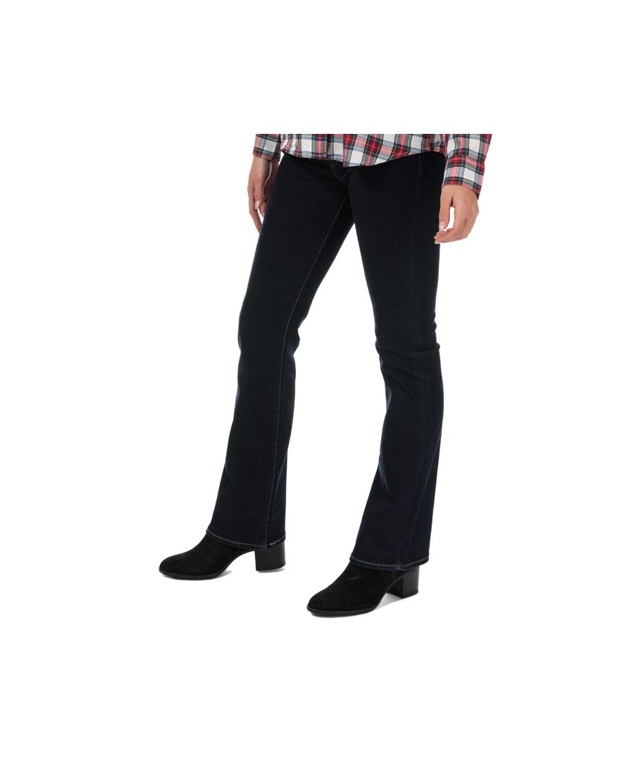 Image for Women's Levis 715 Bootcut To The Nine Jeans in Dark Blue