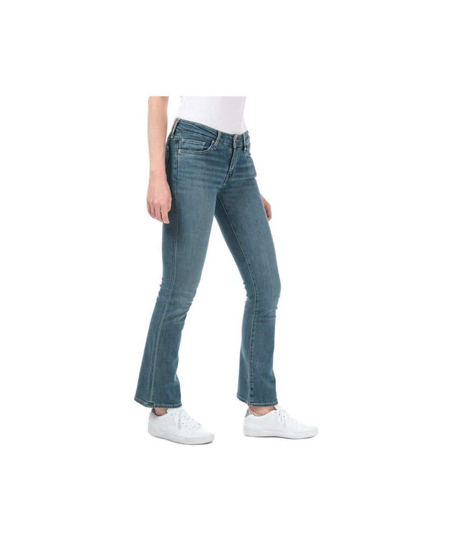 Image for Women's Levis 715 Bootcut Los Angeles Sun Jeans in Denim
