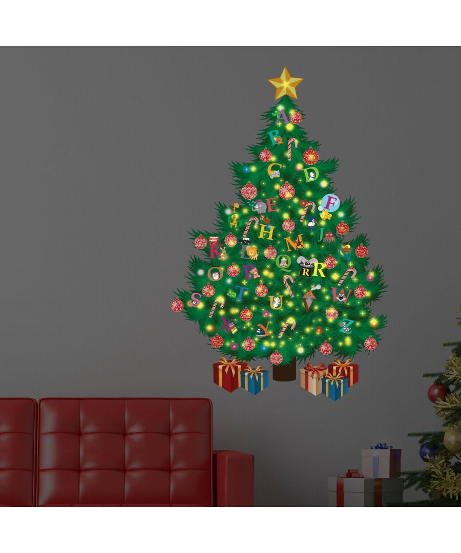 Image for WFXC9315 - COM - WS9064 + WS3012 + WS3036 - Learn the Alphabet Magic Christmas Tree Glow in Dark
