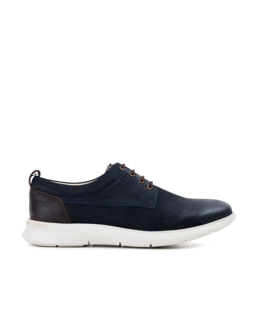 Image for Redfoot Mens Redfoot Motion Navy Casual Derby Boot