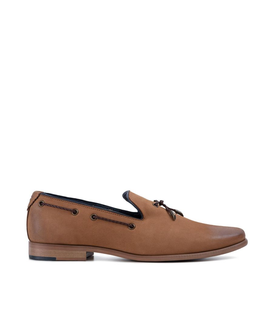 Image for Goodwin Smith Mens Gs Milton Tan Nubuck Loafer