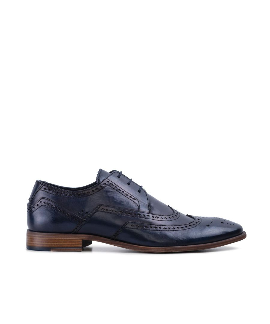 Image for Goodwin Smith Mens Gs Daniel Navy Derby Brogue