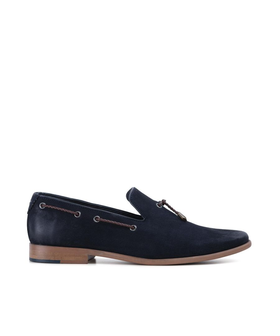Image for Goodwin Smith Mens Gs Milton Navy Nubuck Loafer