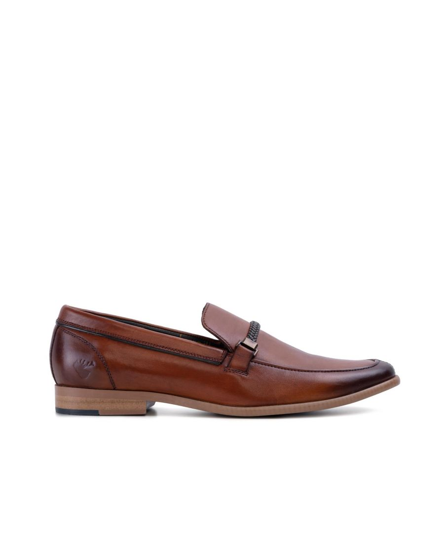 Image for Goodwin Smith Mens Gs Adrian Tan Horse Bit Loafer