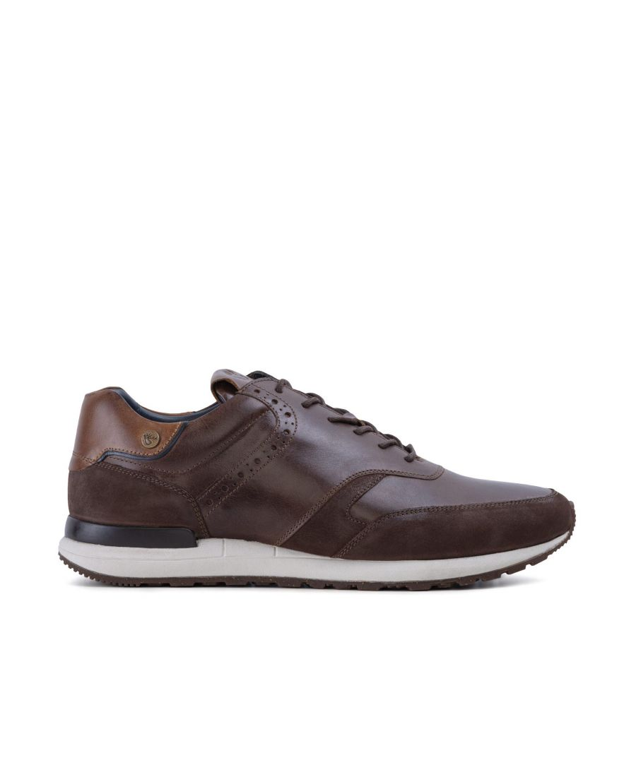 Image for Goodwin Smith Mens Gs Franco Brown Trainer
