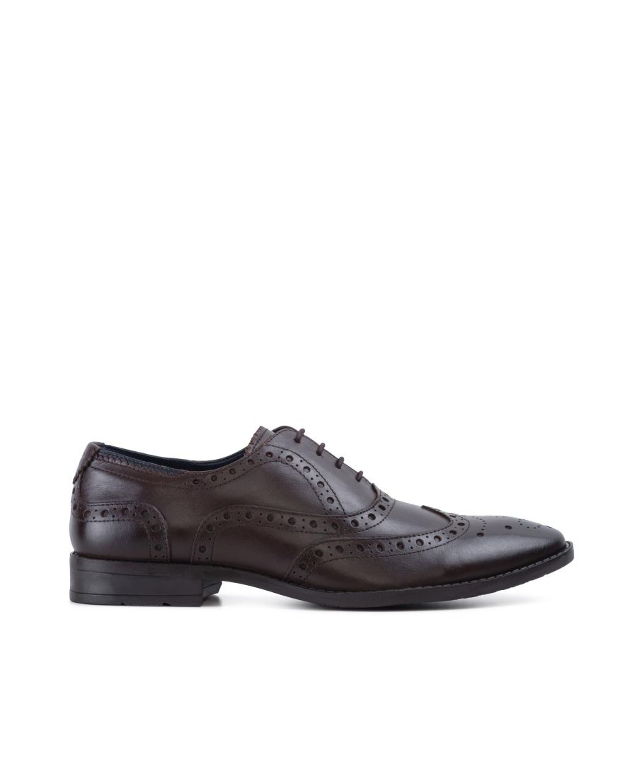 Image for Goodwin Smith Mens Gs Oliver Brown Oxford Brogue