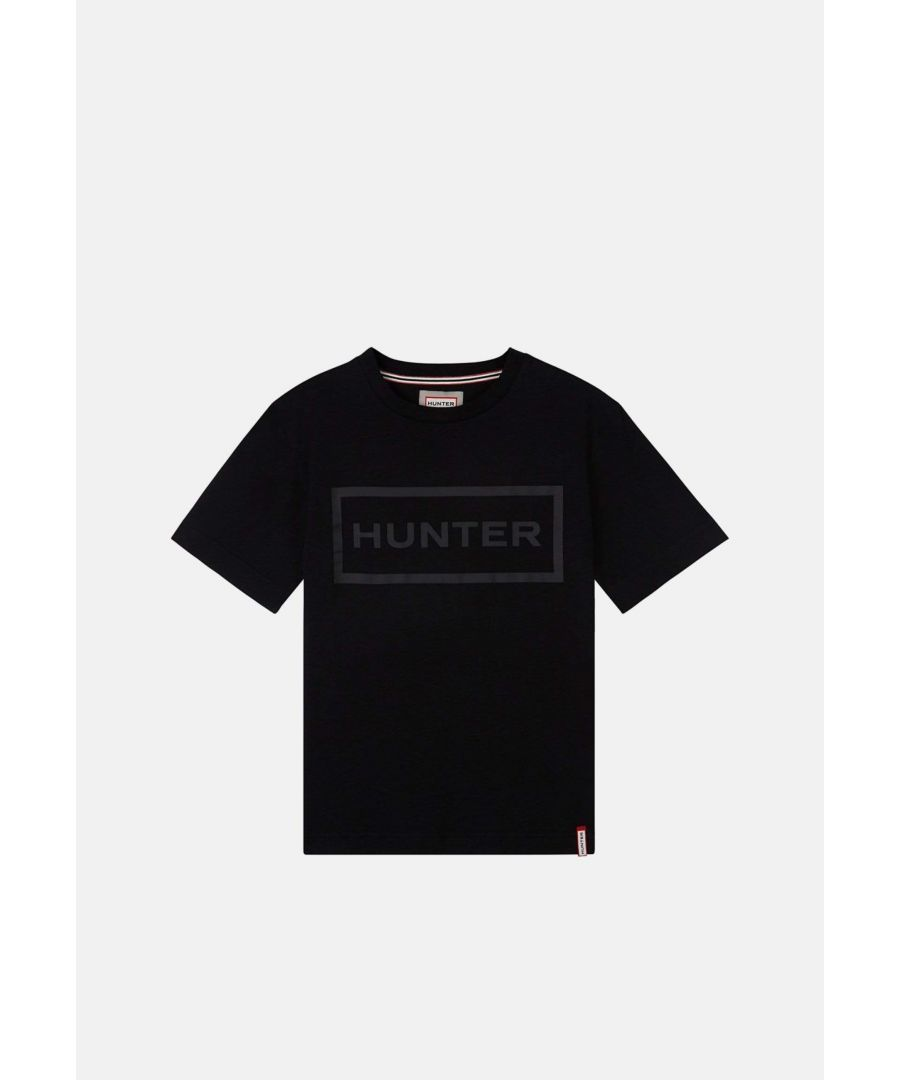 Image for Hunter Womens Original T Shirt Black
