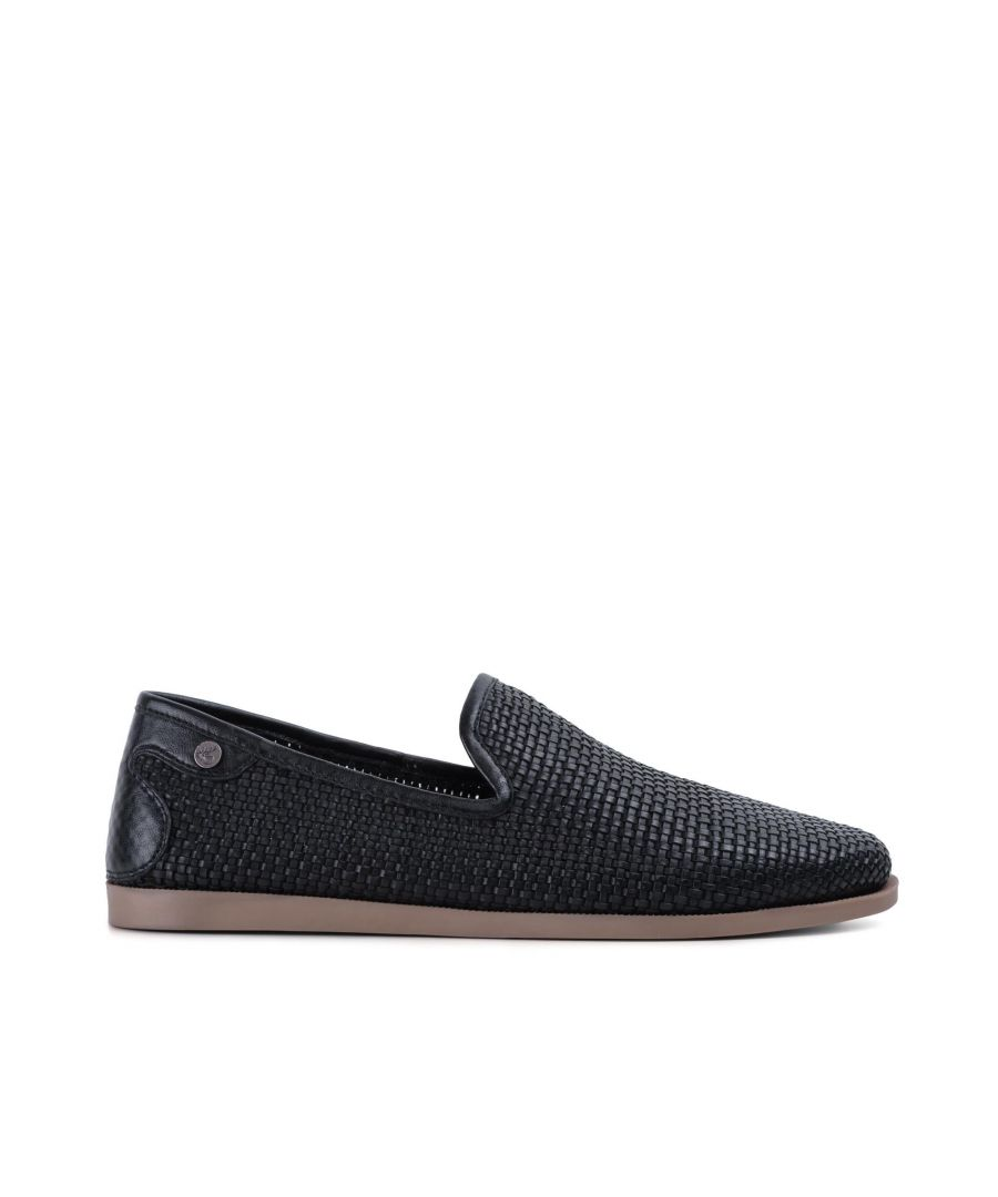 Image for Goodwin Smith Mens Gs Bahia Black Woven Huarache Shoe