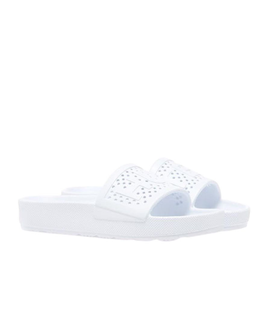 Image for Hunter Womens Original Lightweight Moulded Slide White