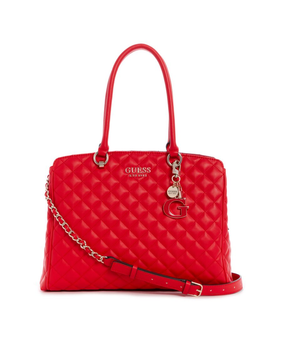 Image for Guess Women's Melise Girlfriend Carryall Tote - Red