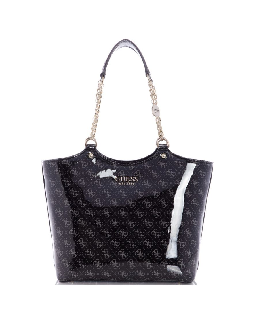 Image for Guess Women's Lorenna Society Carryall Tote - Coal
