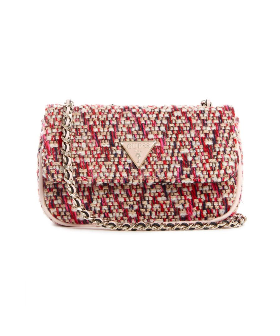 Image for Guess Women's Cessily Micro Sling Cross Body Bag - Pink Multi