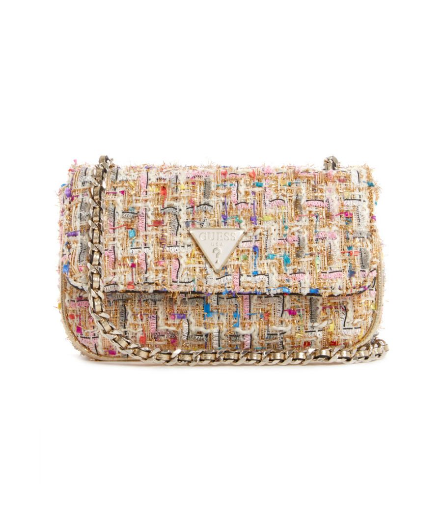 Image for Guess Women's Cessily Micro Sling Cross Body Bag - Gold Multi