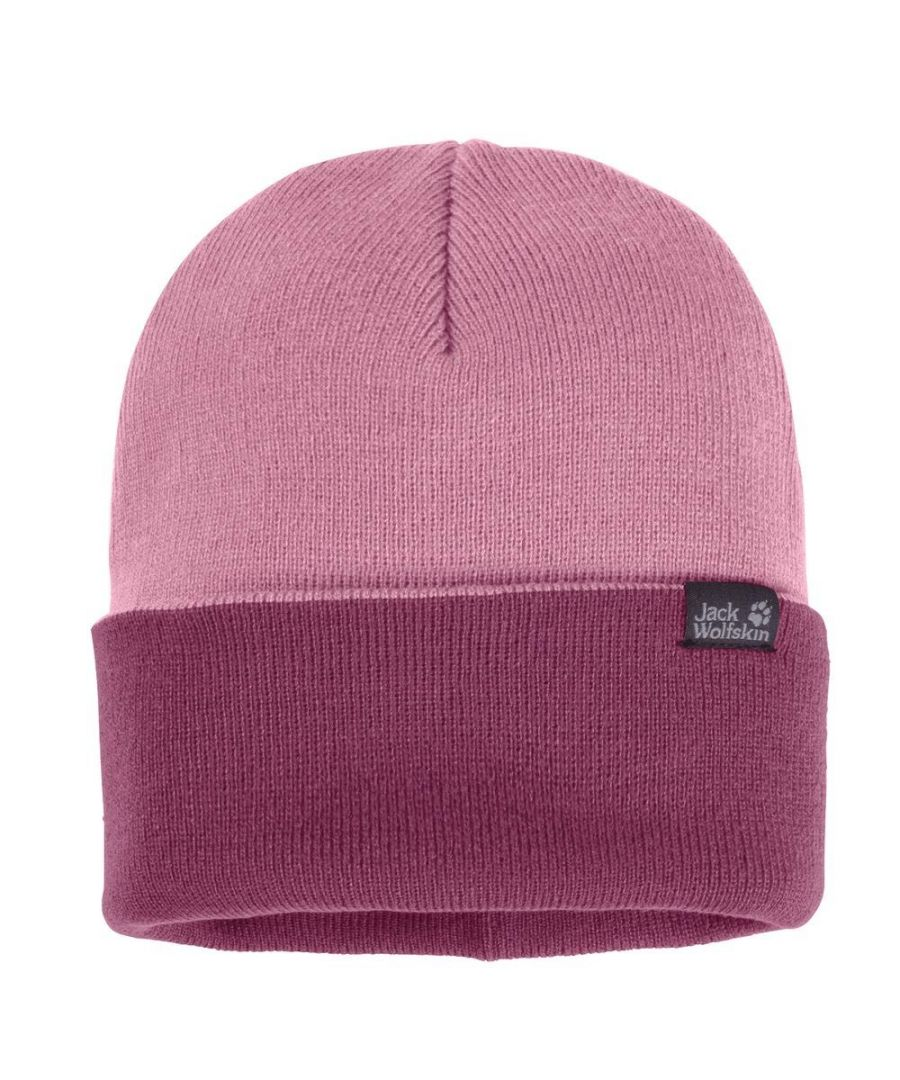 Image for Jack Wolfskin Rib Knitted Beanie