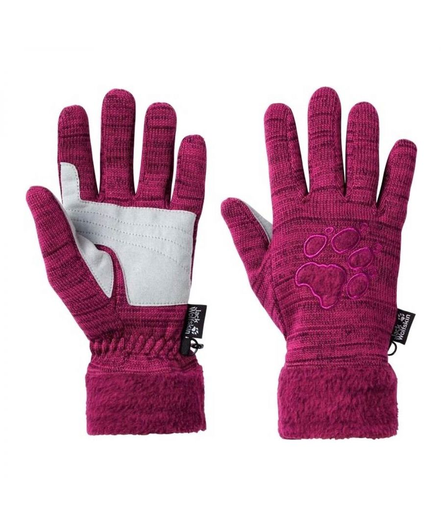 Image for Jack Wolfskin Aquila Womens Outdoor Gloves Pink