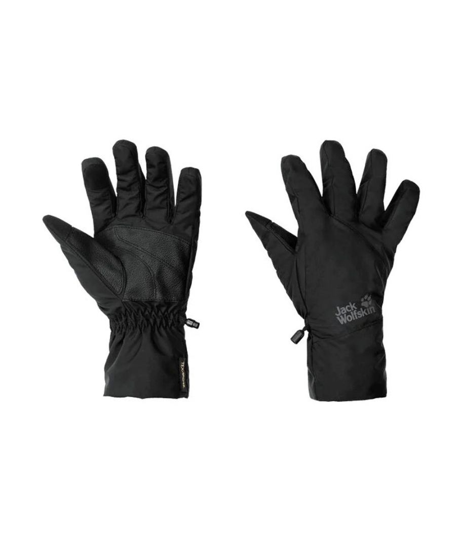Image for Jack Wolfskin Texapore Basic Mens Outdoor Gloves Black