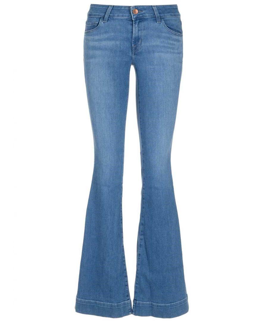Image for J BRAND WOMEN'S JB001877BJ45523 BLUE COTTON JEANS