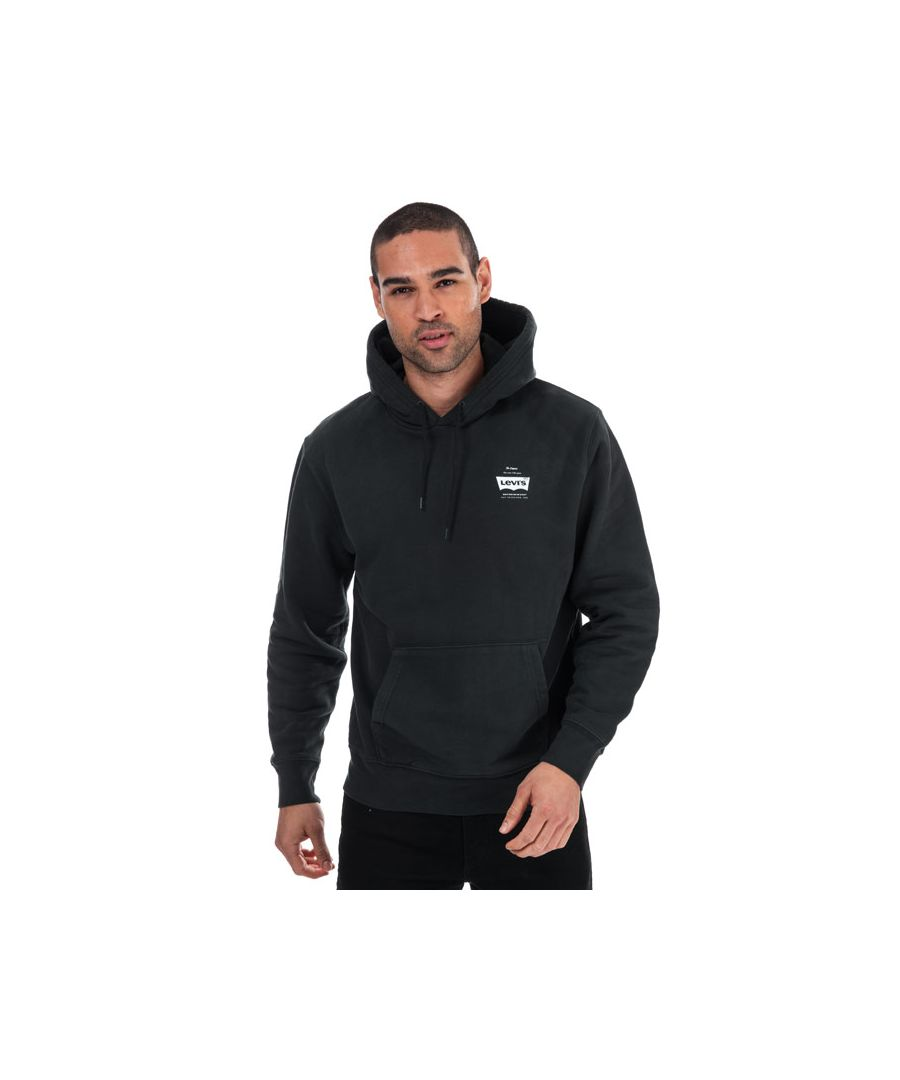 Image for Men's Levis Graphic Logo Hoody in Black