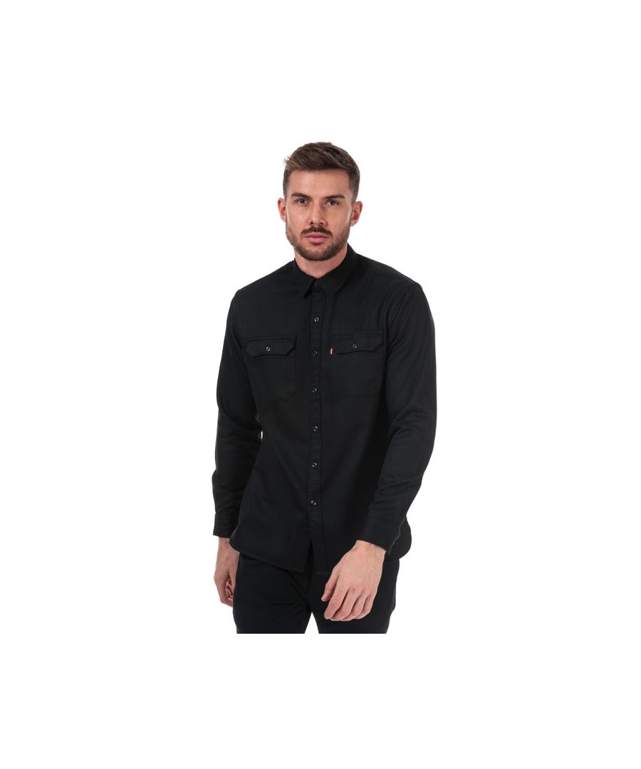 Image for Men's Levis Jackson Worker Shirt in Black