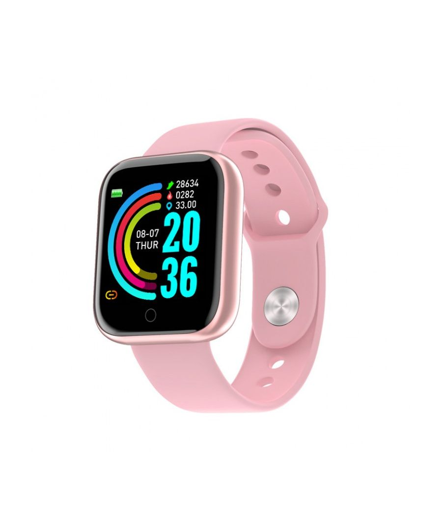 Image for LKS IP67 Multi-function Unisex Bluetooth Smart Watch for Android / IOS Pink