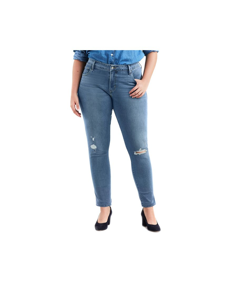 Image for Women's Levis 311 Plus Shaping Skinny Jeans in Denim