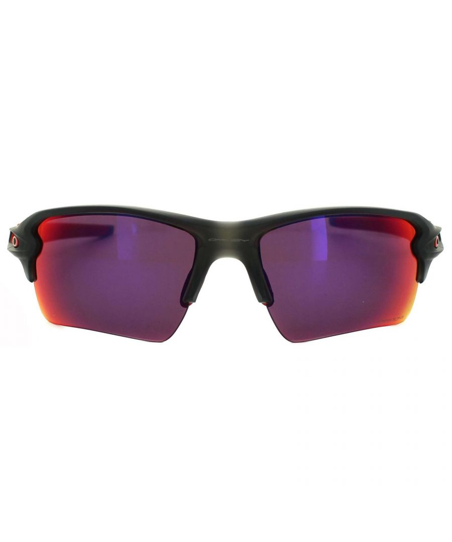 Image for Oakley Sunglasses Flak 2.0 XL OO9188-04 Matt Grey Smoke Prizm Road