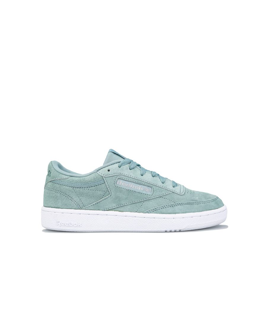 Image for Women's Reebok Classics Club C 85 Trainers in Green White