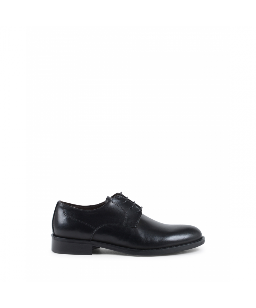 Image for 19V69 Italia Mens Classic Shoe Black 912 P VITELLO NERO
