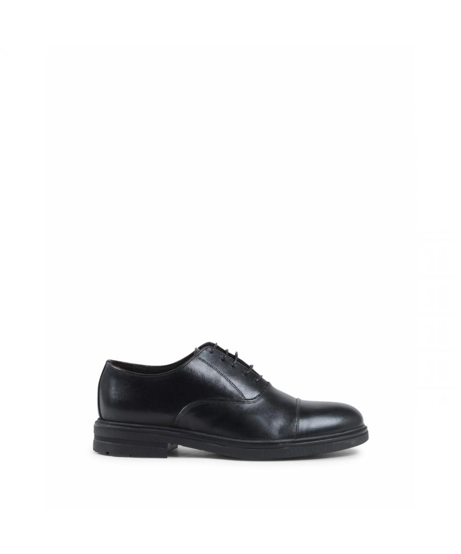 Image for 19V69 Italia Mens Classic Shoe Black 913L P VITELLO NERO