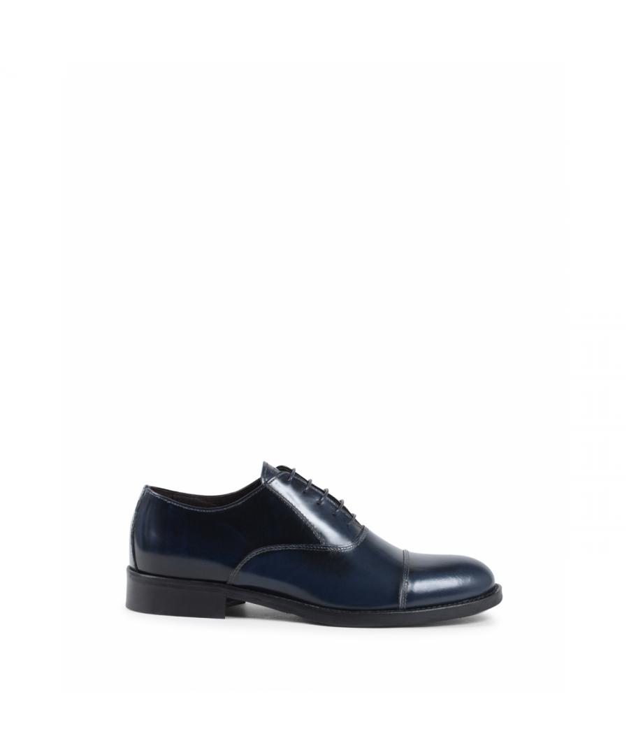 Image for 19V69 Italia Mens Classic Shoe Blue 913L MP ABRASIVATO BLUE
